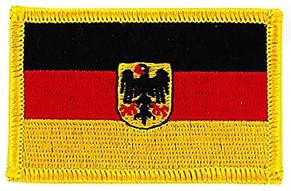 Patch écusson brodé drapeau allemagne aigle allemand thermocollant insigne f614c2df168