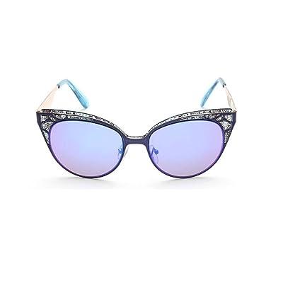 8a65ee77f01677 Alger Lunettes de soleil Vintage Style Cat Eye Metal Anti-UV conduite  Casual Lunettes ,