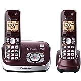Telefono Inalámbrico Panasonic con 1 Extension y ahorrador de Batería con Eco Mode Reacondicionado (Renewed)