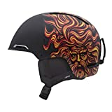 Giro Battle Snow Helmet (Matte Black Santa Cruz Sungod, Large), Outdoor Stuffs