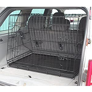 Hardcastle Folding Metal Car Boot Pet Dog Cage 9