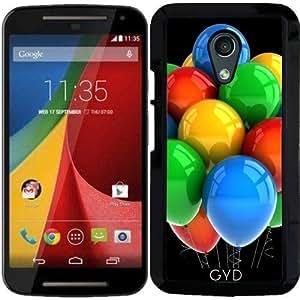 Funda para Motorola Moto G (Generation 2) - Globos Del Partido by Carsten Reisinger