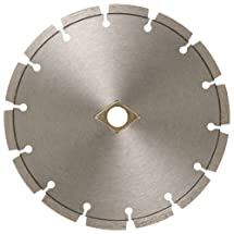 MK Diamond 159407 MK-99 10-Inch Dry or Wet Cutting Segmented Saw Blade with 5/8-Inch Arbor for Concrete and Brick