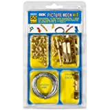Tools & Hardware : Ook 59204 50 Peice Assorted Picture Hanging Kit