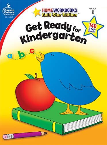Carson Dellosa Education Get Ready for Kindergarten Workbook (Home Workbooks) (Grade 9 Language Arts Pat Practice Tests)