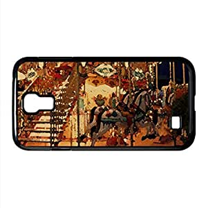 Round and Round Watercolor style Cover Samsung Galaxy S4 I9500 Case