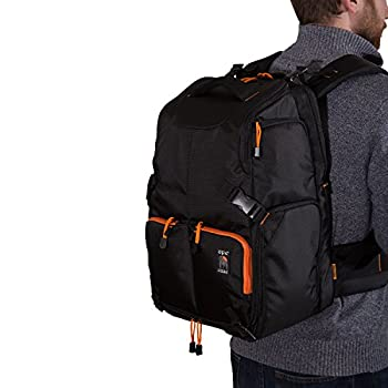 Ape Case Water-Resistant Drone Backpack, Drone Bag, Drone Carrying Case, Gaming Backpack, FPV Backpack, for DJI Phantom 1,2,3,4 or Similar Sized Drones and Quadcopters, Fits Laptops, Tablets, Black