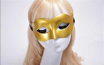 Mascara Facial Careta Protector de Cara dominó Frente Falso Hombres máscaras Halloween Disfraces Bailes máscaras Damas
