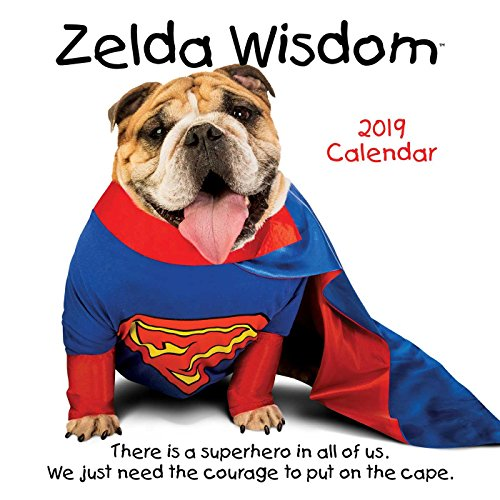 Zelda Wisdom 2019 Wall Calendar