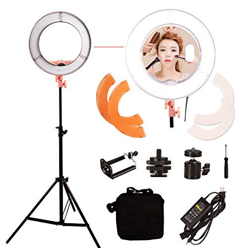 Mettle 12 Inch Brand Design Beauty LED Ring Lights,Makeup Lights, Photography Lights,Video Lights,Including Tripod and Mirror by Mettle
