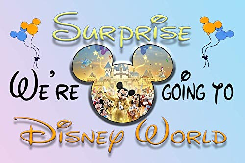 We're Going to Disney World 30 Piece Puzzle Mickey Mouse Magic Kingdom