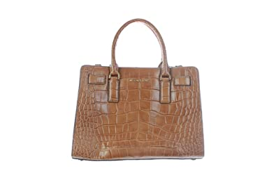 b2e12bb9ee6ead Image Unavailable. Image not available for. Color: Michael Michael Kors  Dillon East West Satchel Walnut