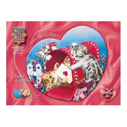 Master Pieces You've Got Mail Heart 500 Piece Jigsaw Puzzle