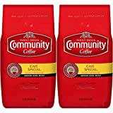Community Coffee Café Special Medium Dark Roast Premium Ground 32 Oz Bag (2 Pack), Full Body Rich Flavorful Taste, 100% Select Arabica Coffee Beans