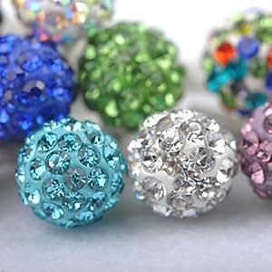 Joyland Diamond-Studded Ball Anti-Dust Earphone Jack (Assorted Color) --- COLOR:Red