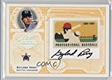 #6: Gaylord Perry #10/69 (Baseball Card) 2005 Leaf Century Collection - Stamps - Professional Baseball Materials Signatures [Autographed] [Memorabilia] #S-32