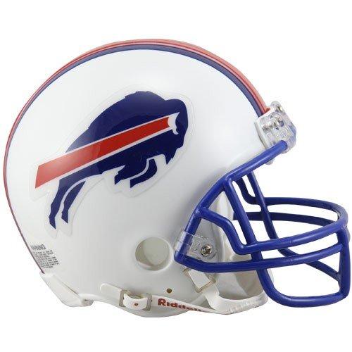 Bills Throwback Mini - Buffalo Bills White 1976-1983 Throwback Mini Helmet