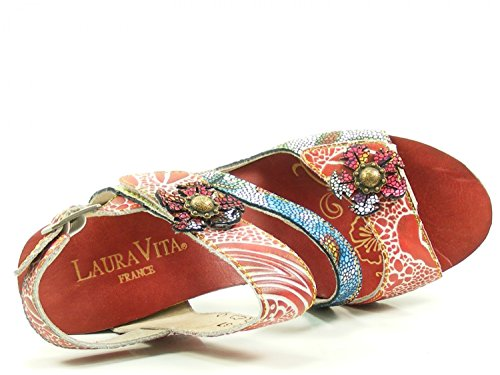 Sandales Laura Rouge Femme Mode Vita Sl235 12 Dax 12 xAfAZOqwCP