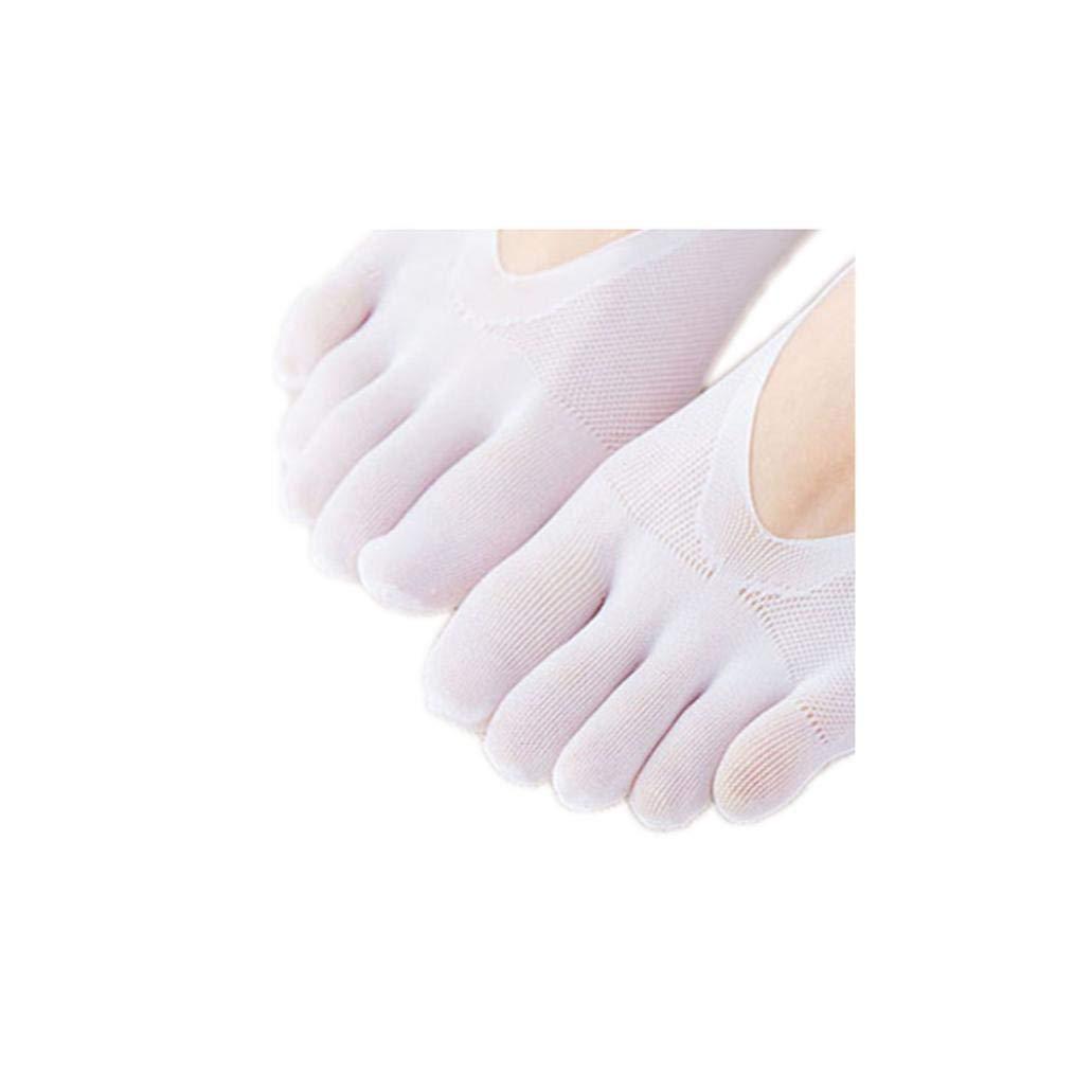 Hotaden Frauen ES No Show-Socken F/ünf-Finger-Low Cut Athletisch Stretch Mannschaft Socke Mit Gel-Tab F/ür M/ädchen