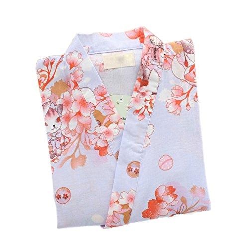Soojun Womens Nightwear Kimono Pajamas