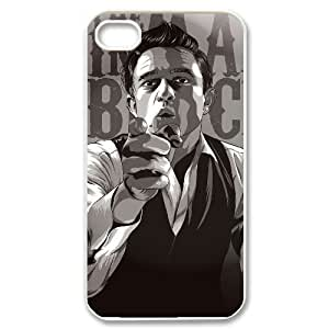 Johnny Cash Popular Case for Iphone 4,4S, Hot Sale Johnny Cash Case