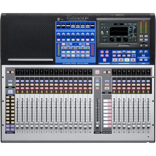 PreSonus StudioLive 24 Series III 46 x 26 digital mixer with 24 recallable XMAX preamps and 24 channel - Channel 32 Digital Mixer Presonus