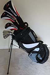 "Brand New Tall Mens Right Handed M5 Complete Golf Set. If you're a taller guy and looking for a great set that will actually fit you, then look no further. All clubs in this set are 1"" longer than standard men's length, and perfect for a tall..."