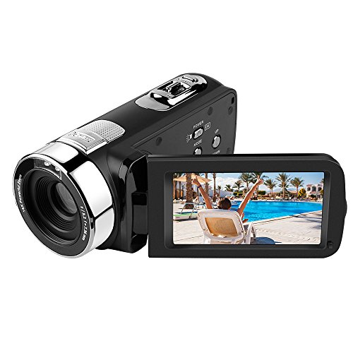 Digital camera,5053str Video Recorder FHD 24MP Wifi Camcorder With 3.0' LCD Touch Screen 270 Degree...