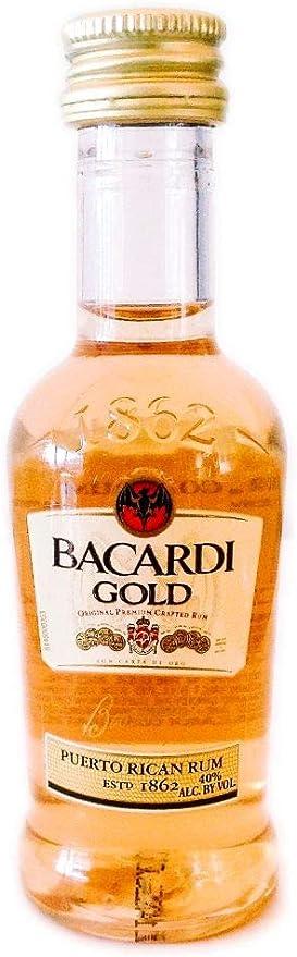 Botellita Ron Bacardi Gold: Amazon.es: Alimentación y bebidas