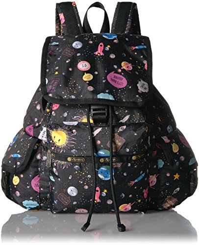 (LeSportsac Women's Classic Voyager Backpack, Space)