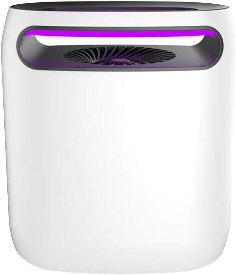 GGYMEI 蚊ランプ屋内吸入インテリジェント調光ミュート無放射アンチエスケープ耐熱ABSプラスチック (色 : 白, サイズ さいず : 222x130x252mm)
