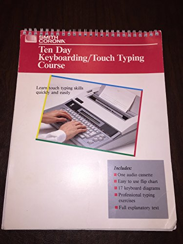 Ten Day Keyboarding/Touch Typing Course