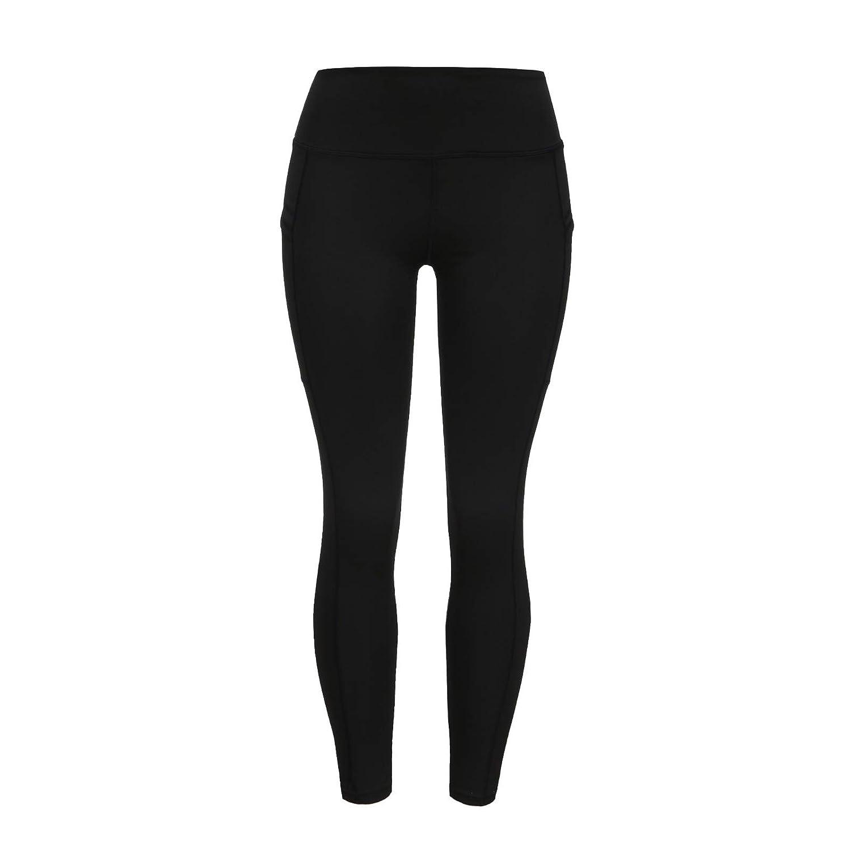 Fit Leggings for Women Plus Size,Yoga Pants for Women with Pockets High Waist Tummy Control Slim Leggings