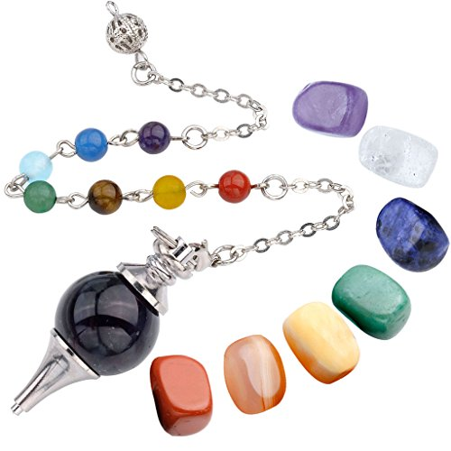 Top Plaza Amethyst Pendulum Meditation