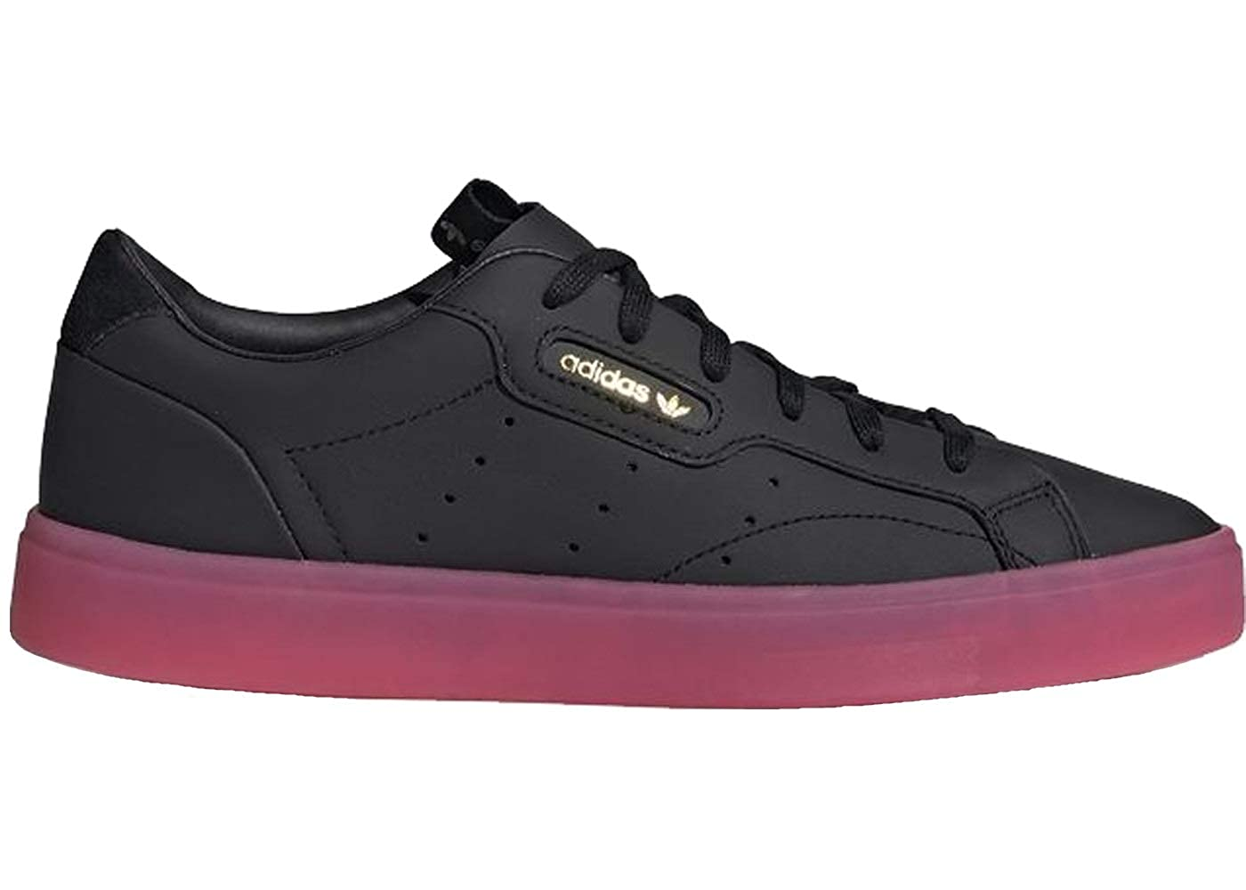 Adidas Originals Sleek W, Scarpe da Donna, scarpe da da da ginnastica Donna, nero rosa. 9a0753