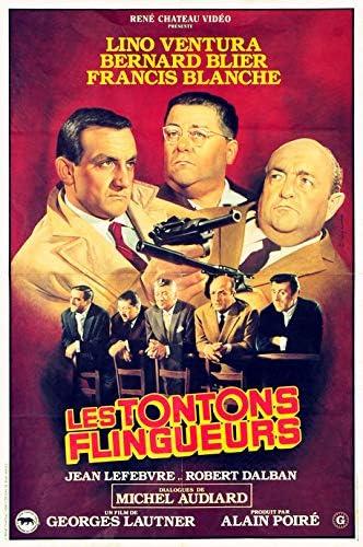 Les Tontons Flingueurs - Affiche de Cinéma Originale (ressortie vidéo) - 40x60 cm - Pliée