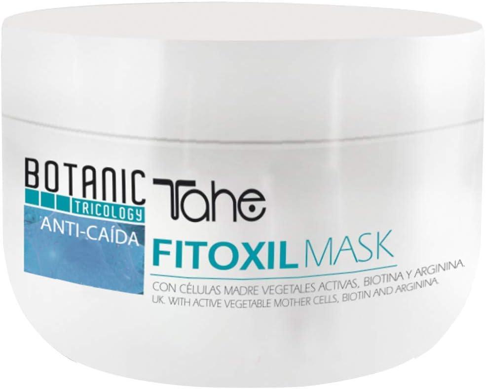 Tahe Fitoxil Mascarilla de Pelo Anti Caída Redensificadora Fortalece y Nutre con Biotina y Arginina 300 ml