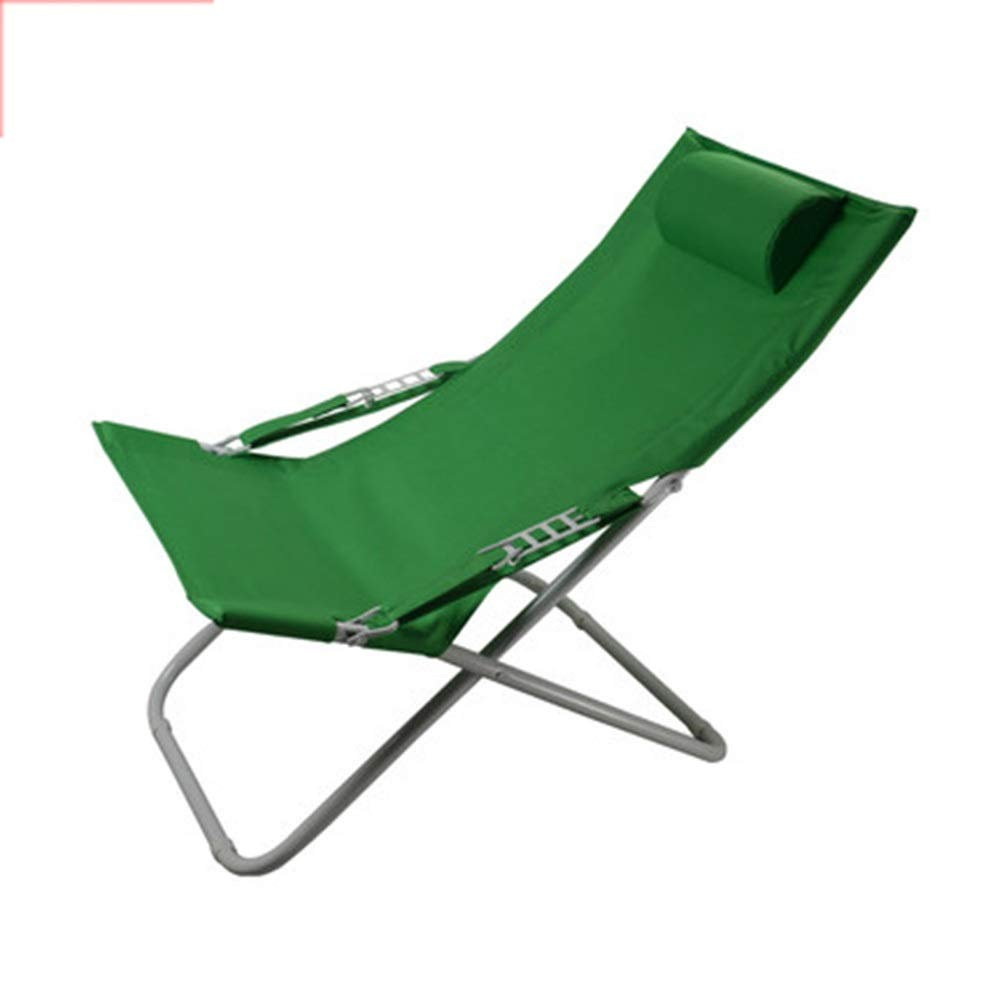 JDGK - ラウンジチェア 8974 B07T4HMHHV リクライニングチェア折りたたみチェアランチブレイクオフィスシエスタチェアキャンバスサンビーチ屋外チェア補強シンプルな椅子 お見舞い 国内正規品