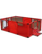 Parque de Juegos Juegue portátil para bebés de Yard con la Caja de fútbol,