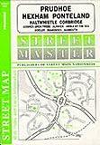 Berwick-upon-Tweed, Prudhoe, Alnwick, Amble, Corbridge (Streetmaster Street Maps)