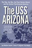 Front cover for the book The USS Arizona by Joy Waldron Jasper