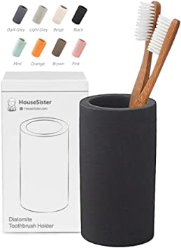 Amazon.com: HouseSister - Soporte organizador para cepillos ...
