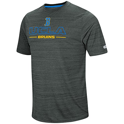 Colosseum Men's UCLA Bruins Line Up Short Sleeve Dri Blend Tee, Medium - Ucla Football Rose Bowl