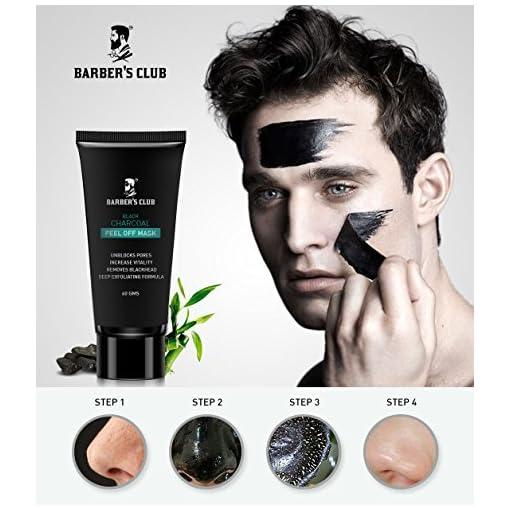 Barber's Club Black Charcoal Peel Of Mask - Ultimate Blackhead Remover