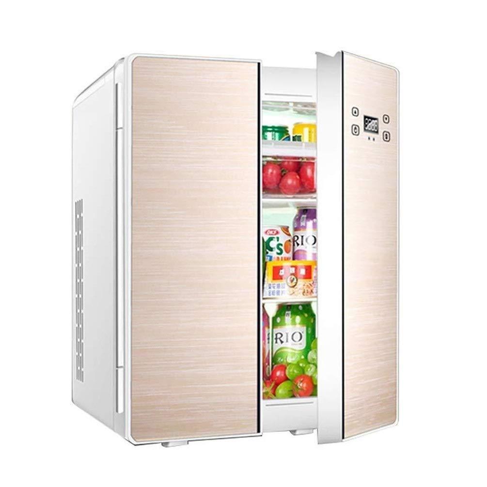 Mini refrigerador doméstico -25L de doble núcleo con doble puerta ...