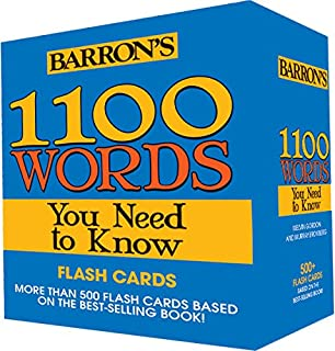 Amazon 1001 words you need to know and use an a z of 1100 words you need to know flashcards fandeluxe