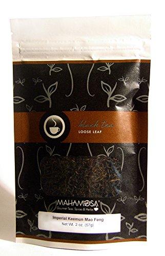 (Mahamosa China Black Tea Loose Leaf (Looseleaf) - Imperial Keemun Mao Feng 2 oz)