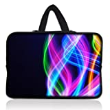 """Colorful Rainbow 11.6"""" 12.1 12 Inch Laptop Sleeve Bag Carrying Case Cover +Hide Handle For Acer Chromebook Google Chrome OS 11.6"""",Alienware M11x 11.6"""",Macbook Air/Acer,HP Dell Acer Thinkpad,Acer Aspire S7/Acer C7 Chromebook,Lenovo Ideapad,Sony IBM ASUS?Dell Inspiron 11z 1110,12.1"""" Apple iBOOK PC,DELL Latitude E6230 XT2 XPS Duo,Samsung Google 11.6"""" Chromebook"""