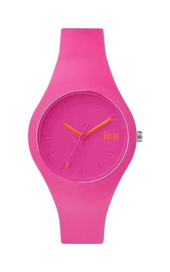 Ice-Watch - ICE chamallow Neon pink - Reloj rosa para Mujer con Correa de