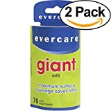 Evercare Giant Lint Roller Refill, 70 Sheets